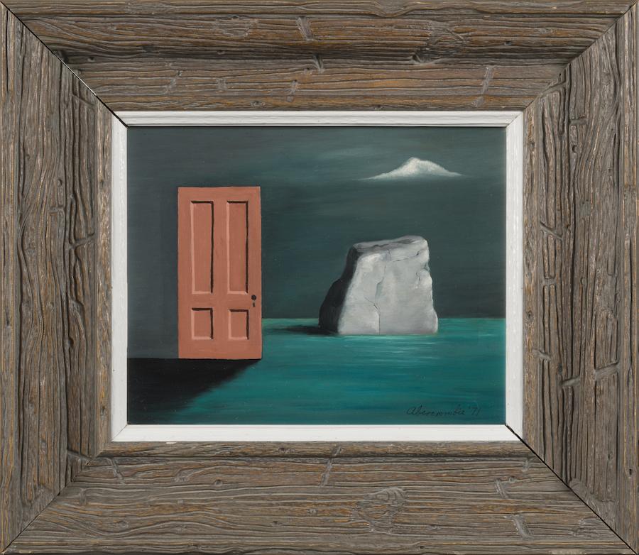 Gertrude Abercrombie, <em>The Door and the Rock</em>, 1971