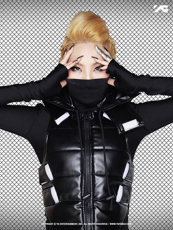 CL of K-pop group 2NE1
