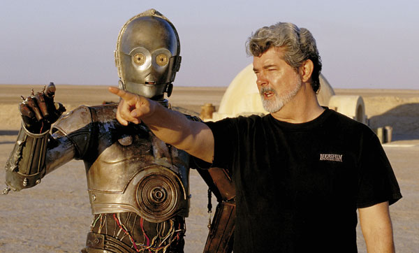 George Lucas and C-3PO are in search of a new home.