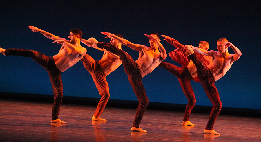 Giordano Dance Chicago performs at Harris Theater this weekend.