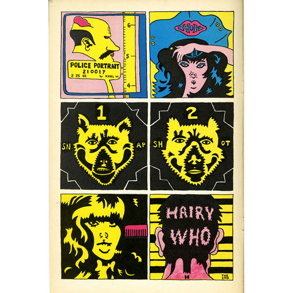 Hairy Who, from The Portable Hairy Who (1966)