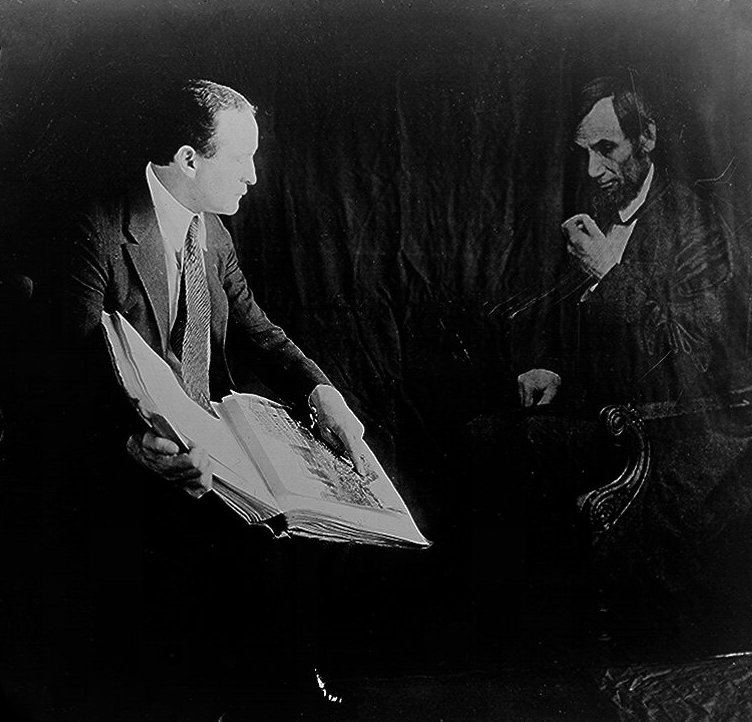 Houdini and the ghost of Abraham Lincoln