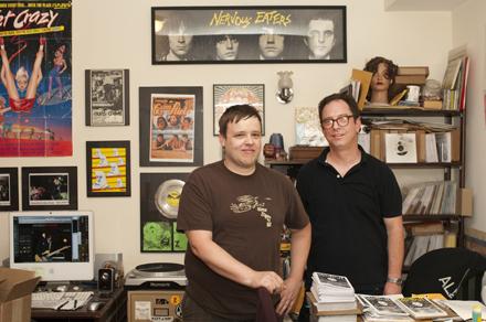 Todd Novak and Brett Cross