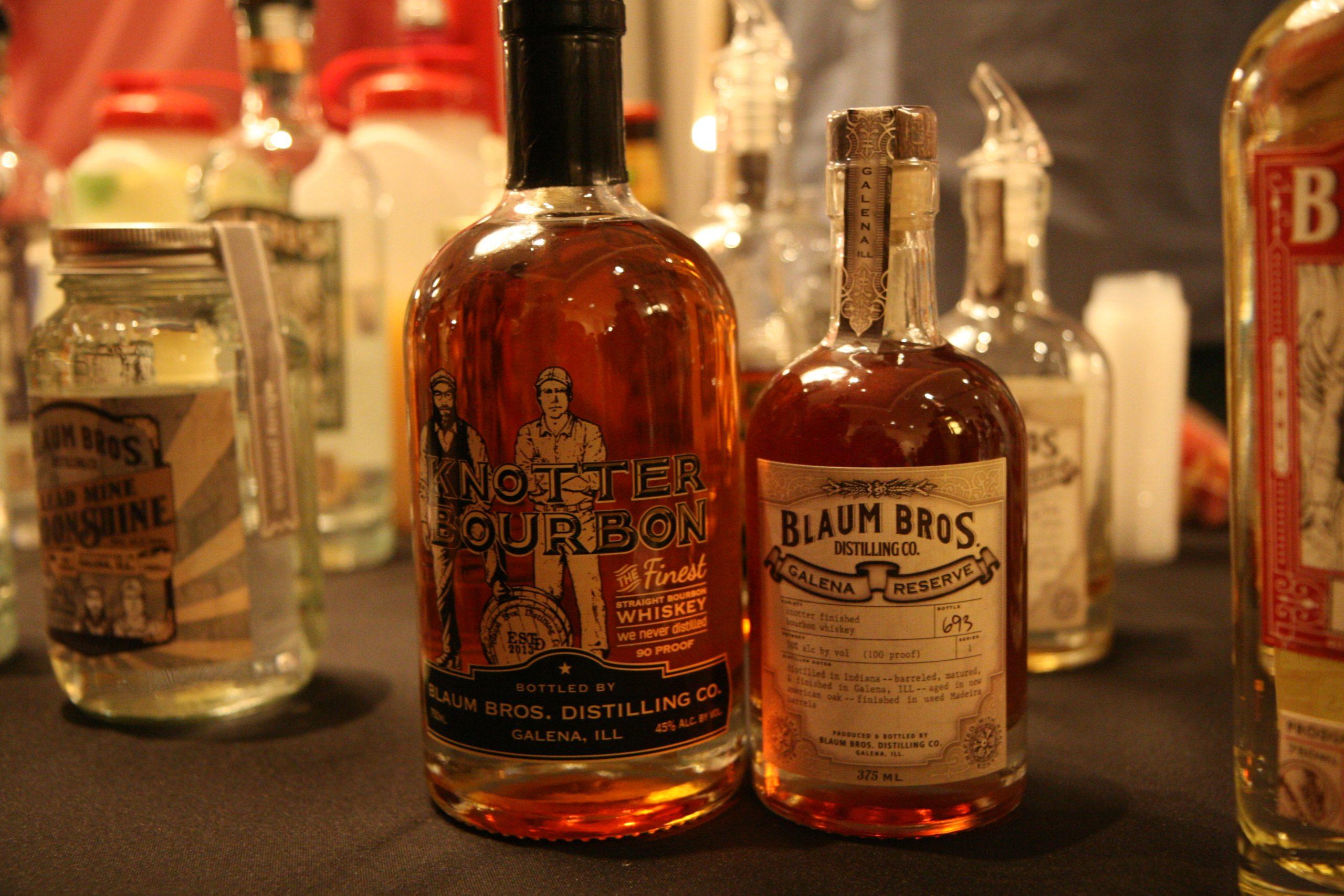 Knotter bourbon and Madeira-finished Knotter bourbon
