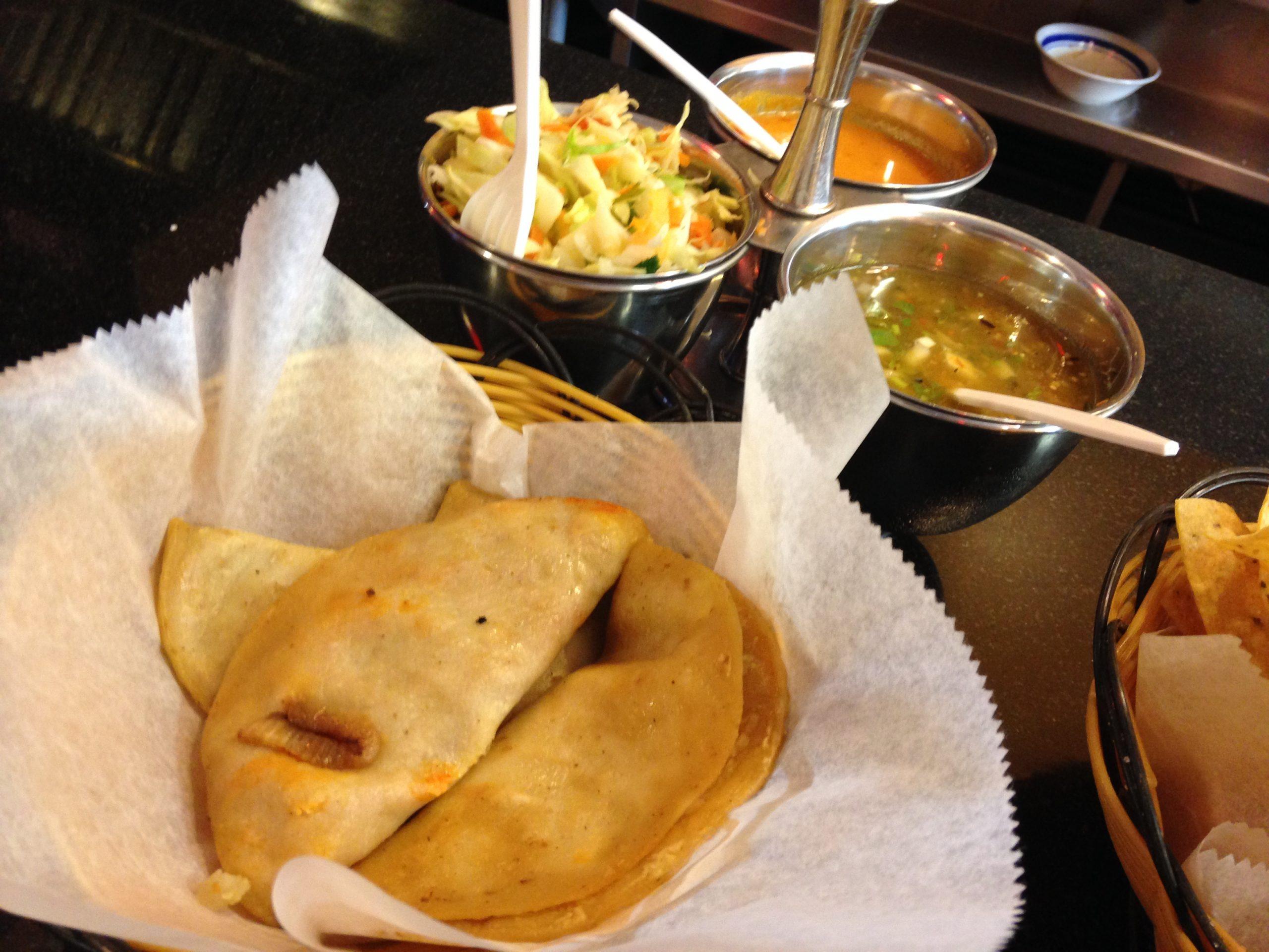 3. El Conde S.A., 1536 W. 18th. Tacos <i>de canasta</i> (basket tacos)