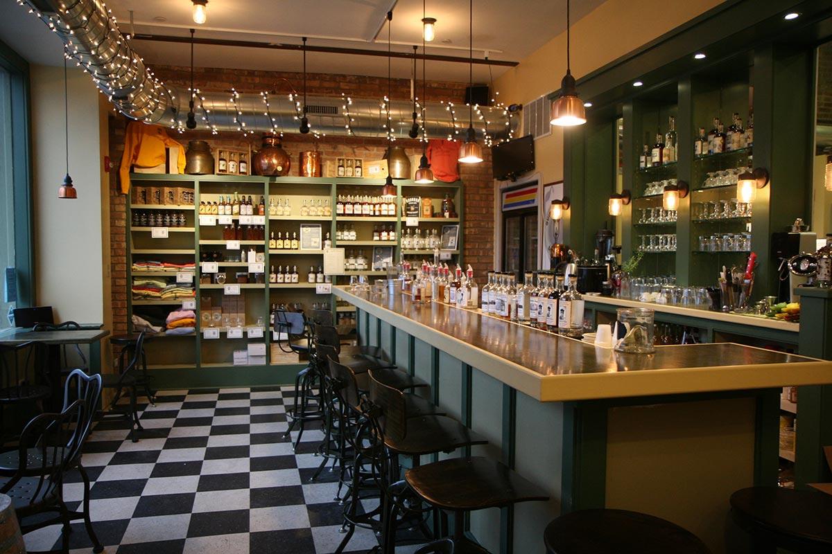 The Quincy Street tasting room