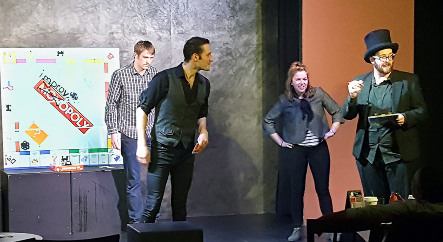 <i>ImprovOpoly</i>, at Under the Gun Theater
