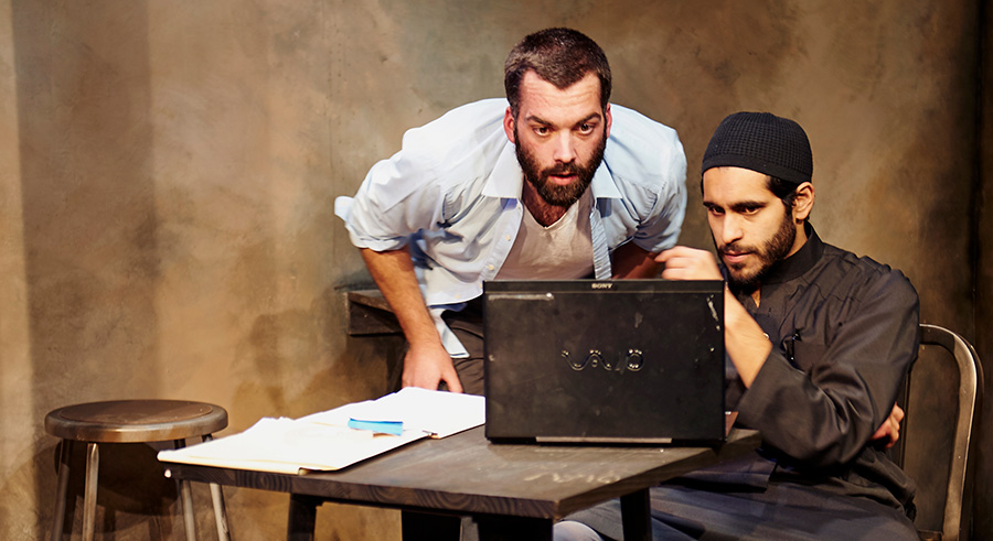 Steep Theatre's <i>The Invisible Hand</i>