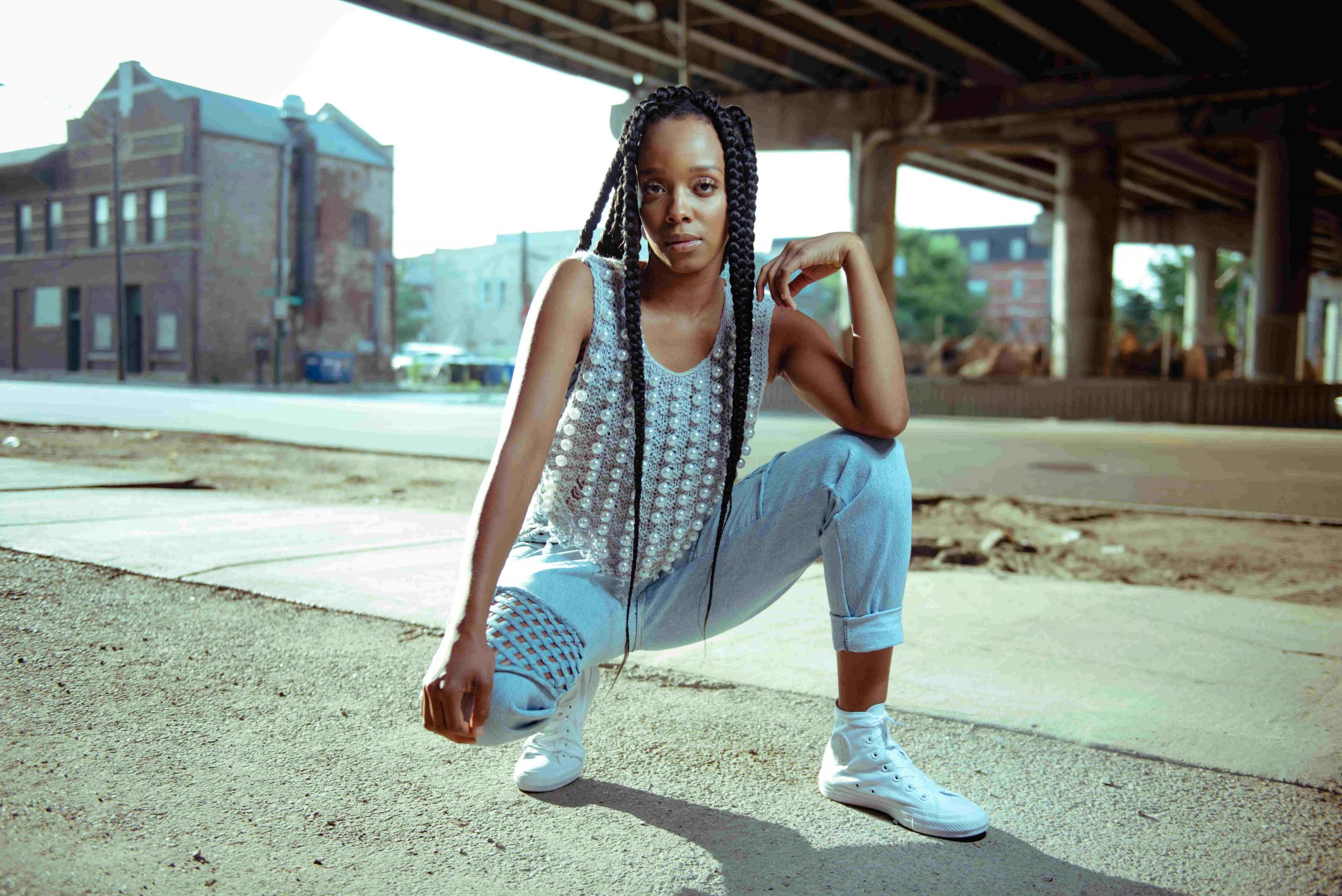 """Jamila Woods's """"Muddy"""" is the A side of <i>VFAC 004</i>."""