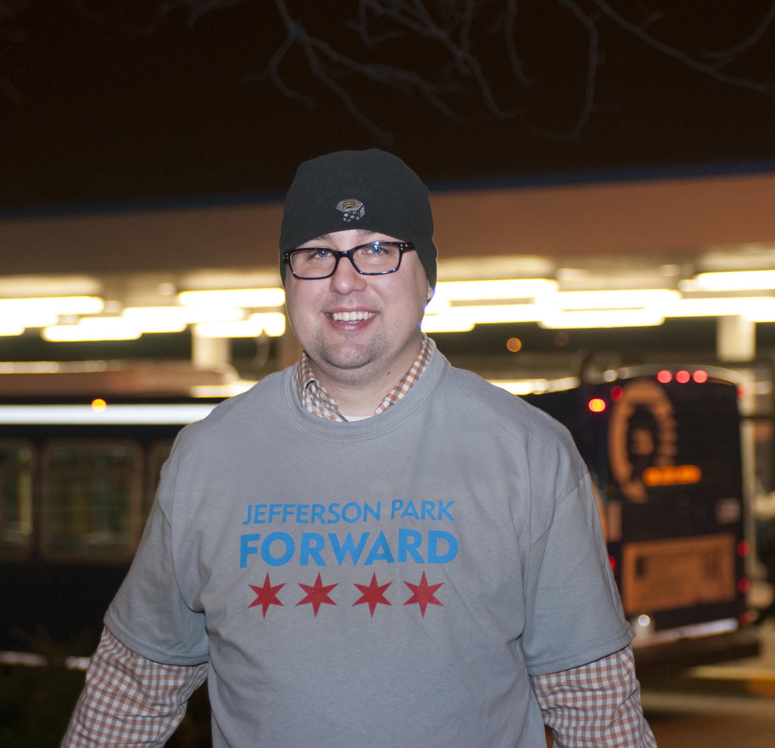 Jefferson Park Forward founder Ryan Richter
