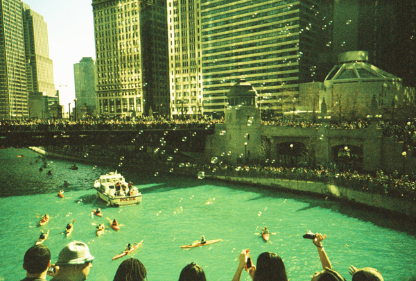 Untitled. Chicago River, March. By Jeremiah Loren, banker, Edgewater