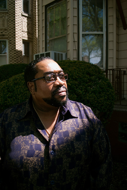 """Activist Jimmy Simmons has been trying to push gangs and drugs out of west Humboldt Park for nearly 30 years. """"It's a constant battle,"""" he says. """"It's heartbreaking."""""""