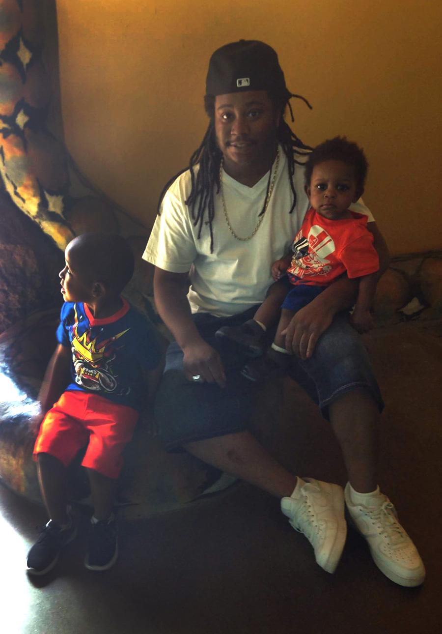 Joshua Beal with sons Joshua Jr. and Josiah Beal