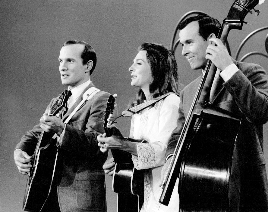 Dickie Smothers (right), half of the vaunted Smothers Brothers comedy duo, headlines the iO Musical Improv Festival, which starts Thursday 8/17.