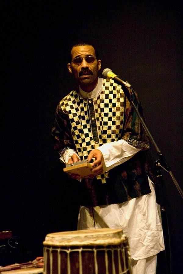 Kahil El'Zabar of the Ethnic Heritage Ensemble
