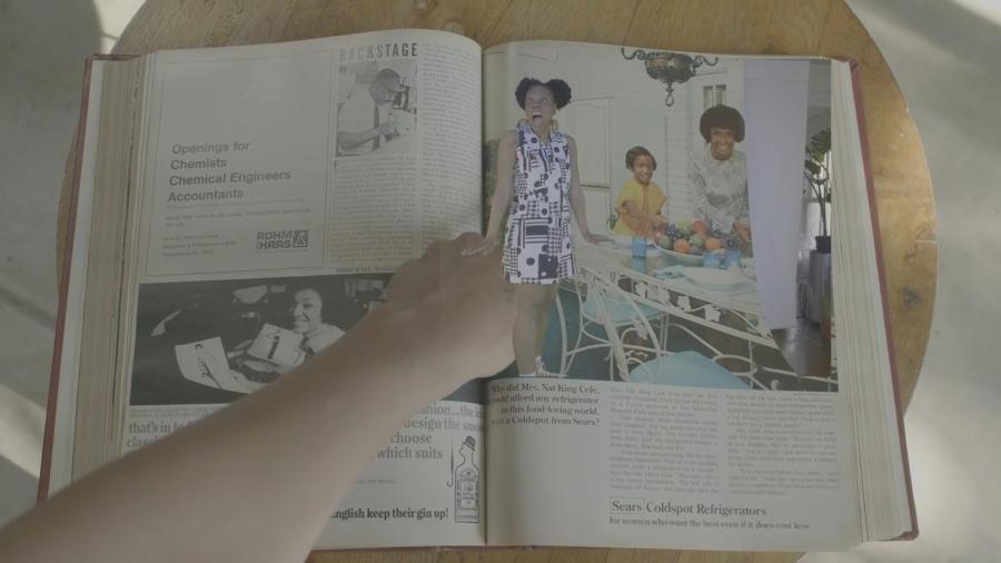 <i>Litany Pt. IV: Ebony</i> by Jenn Freeman/Po'Chop (part of About Face Theatre's <i>Kickback</i> festival)