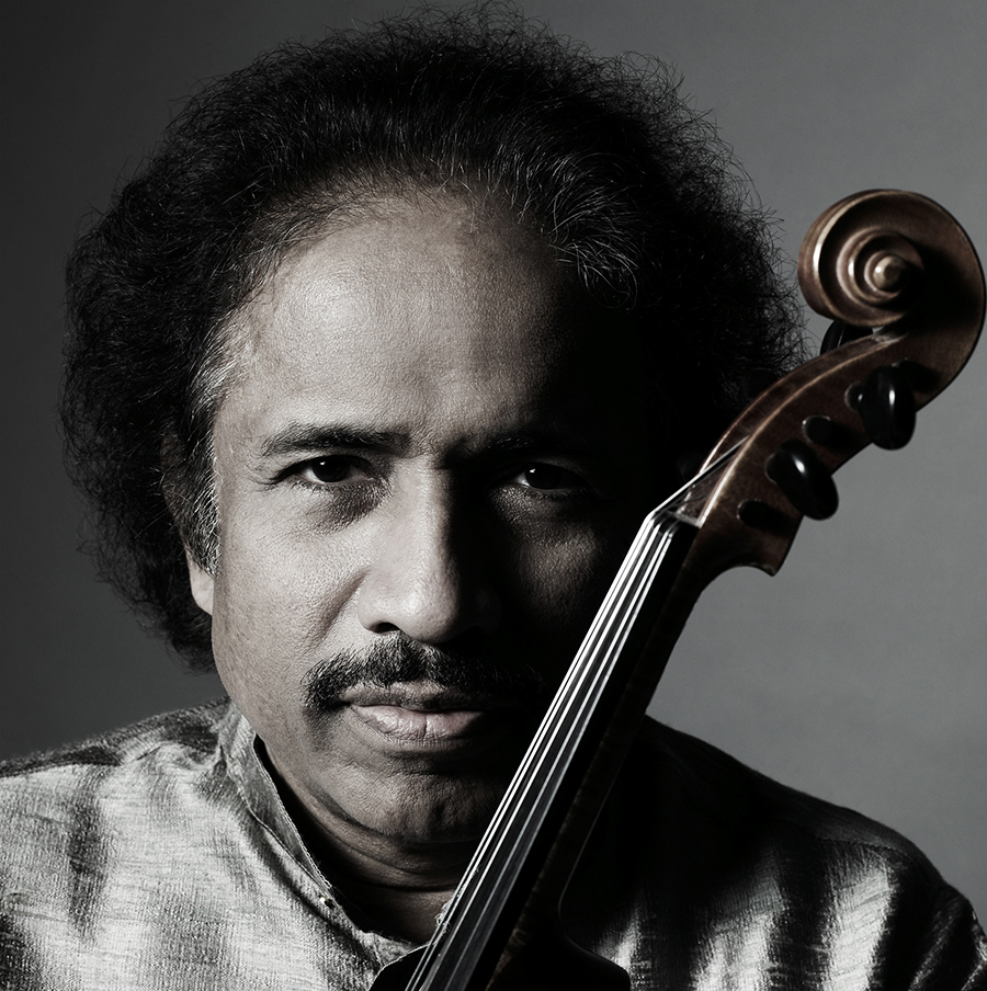 L. Subramaniam, composer of the Bharath Symphony