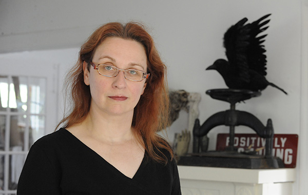 Audrey Niffenegger enters the Literary Death Match on Thu 3/10.