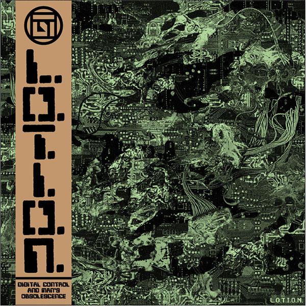 The cover of the L.O.T.I.O.N. album <i>DigitalControl and Man's Obsolescence</i>