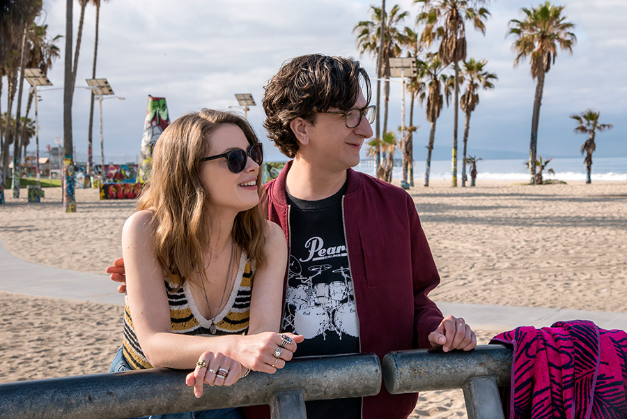 <i>Love</i>'s Mickey (Gillian Jacobs) and Gus (Paul Rust) were doomed from the start.