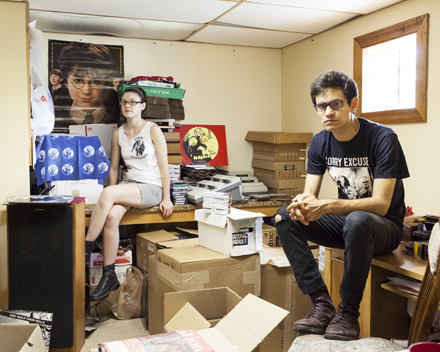 Raven DiMichele and Ralph Rivera