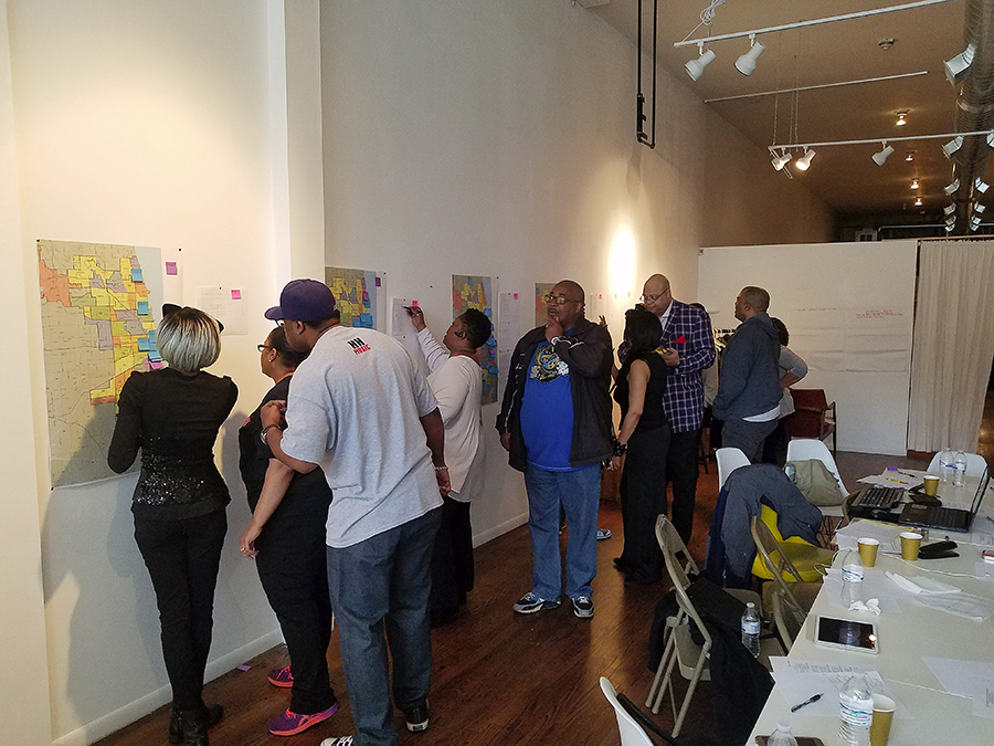 In 2017 at Reunion Chicago, the Chicago Black Social Culture Map hosted a feedback session with a focus group from the early generations of house music.