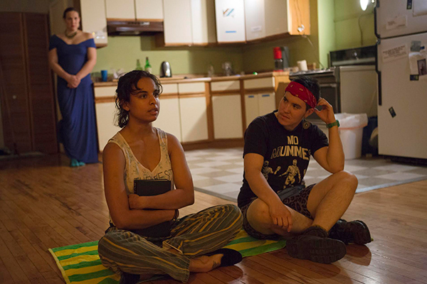 Runaways Lab Theatre's <i>Mary Shelley Sees the Future</i>