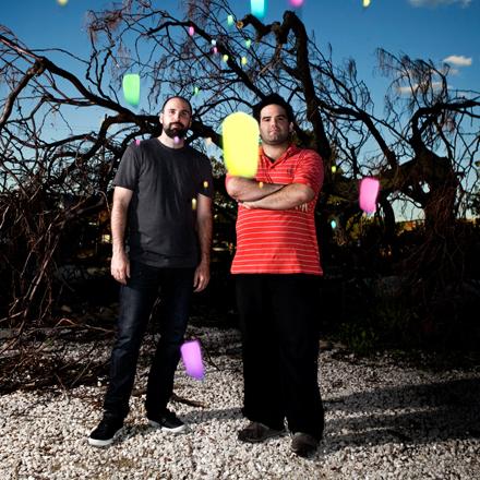 Matt Kimmel (right)