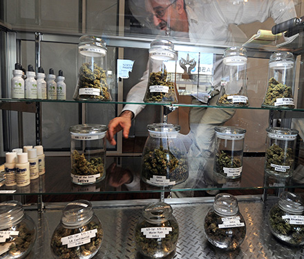 You won't find any of this medicine at the drugstore—registered patients will have to acquire their cannabis from carefully regulated dispensaries.