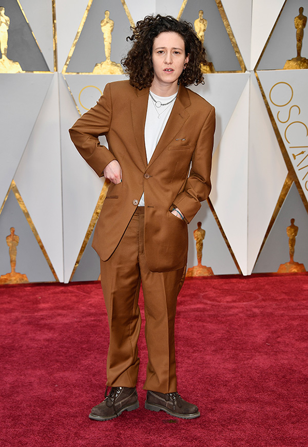 Mica Levi at the Oscars in February 2017
