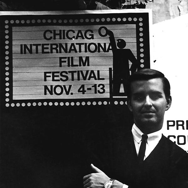 Chicago International Film Festival director Michael Kutza in 1965.