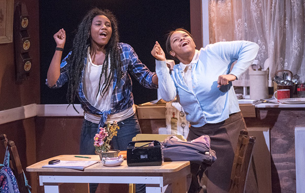 Ireon Roach and Megan Napier in the Yard's <i>Milk Like Sugar</i>, a coproduction with Raven Theatre