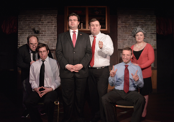 The cast of <i>The Miracle Walker: A Tale of Two Bushes</i>