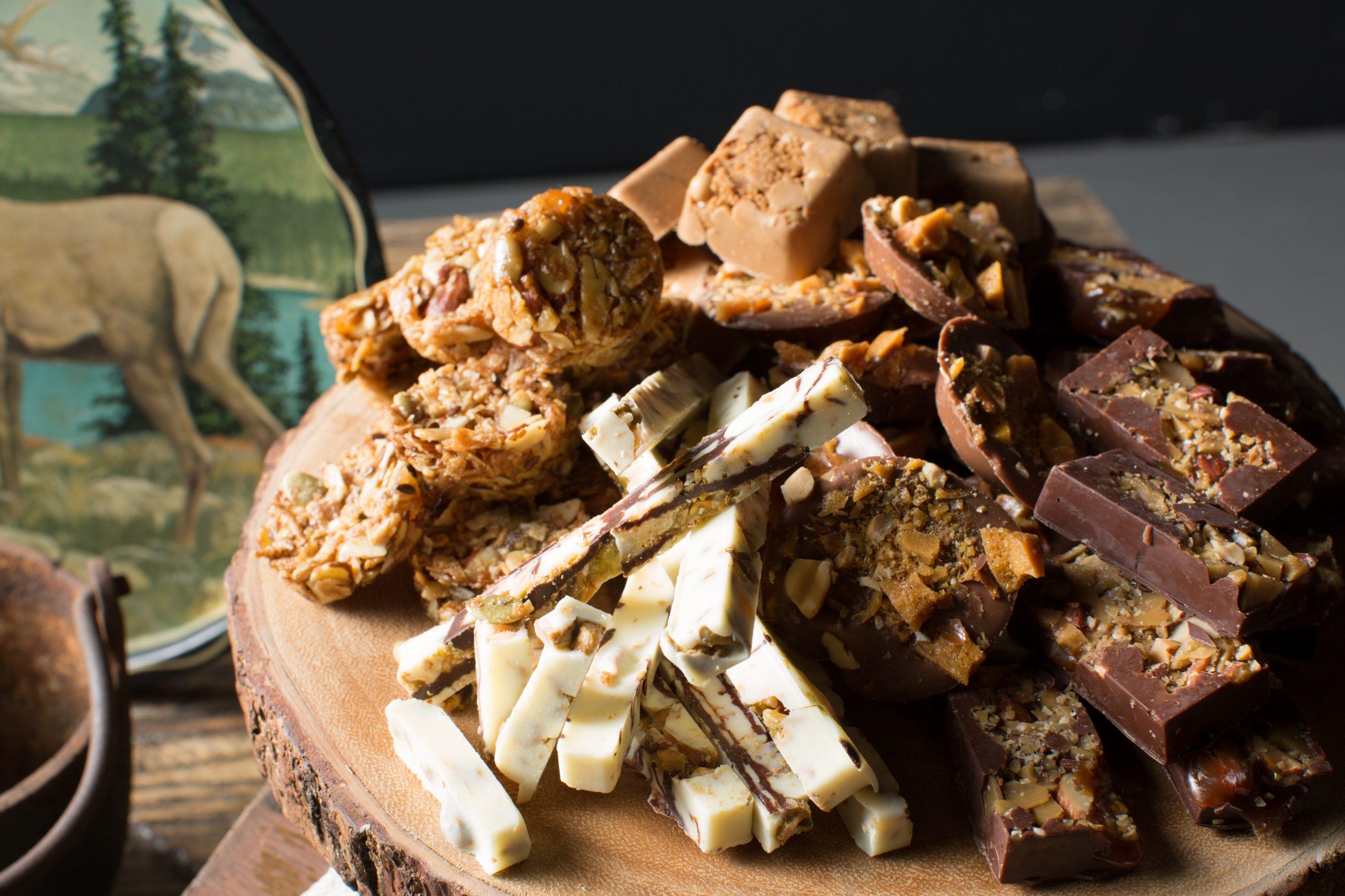 A selection of Segal's edibles