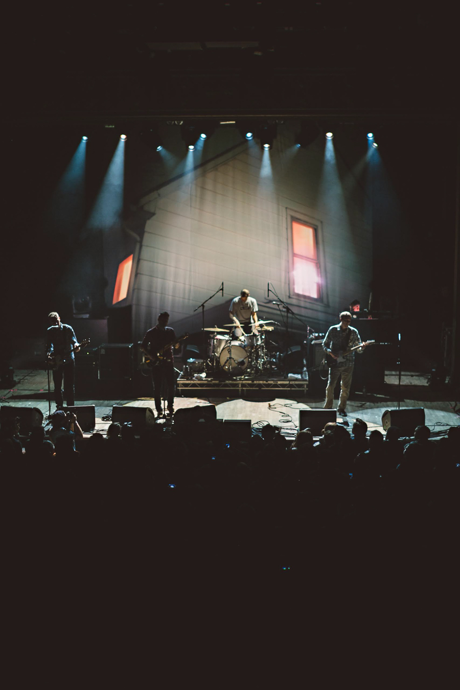 American Football play Webster Hall in New York in October 2014.