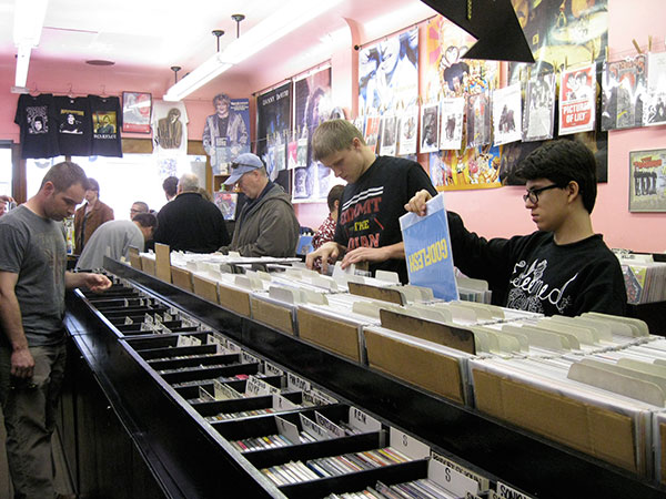 Record Store Day takes place all over the city on Sat 4/16.