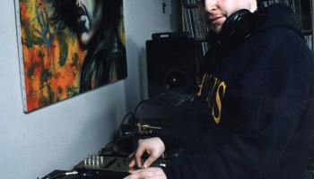 Jesse de la Peña in 2003, the year the Blue Groove Lounge ended its weekly parties