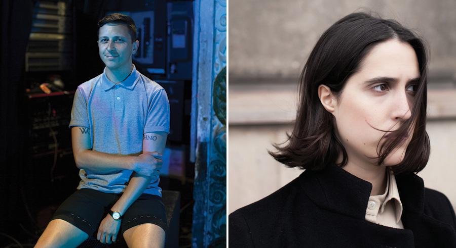 Smart Bar talent buyer Jason Garden, aka Olin; Helena Hauff