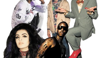 Mixtapes aren't just a rap thing anymore—they're beginning to reflect the diversity of pop music. Clockwise from top left, several artists who've had successful mixtapes recently: A$AP Rocky, Ryan Lewis & Macklemore, Jeremih, and Charli XCX.
