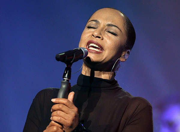 Sade onstage in Nice, France, in 2011