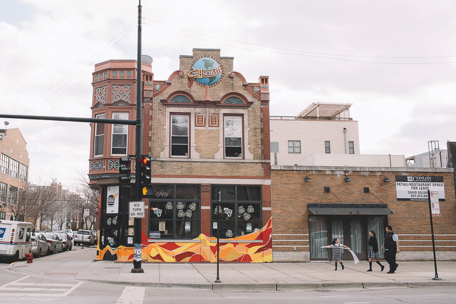 The old Schlitz tied house at 1801 W. Division, formerly home to No Palace, is now Mac's Wood Grilled.