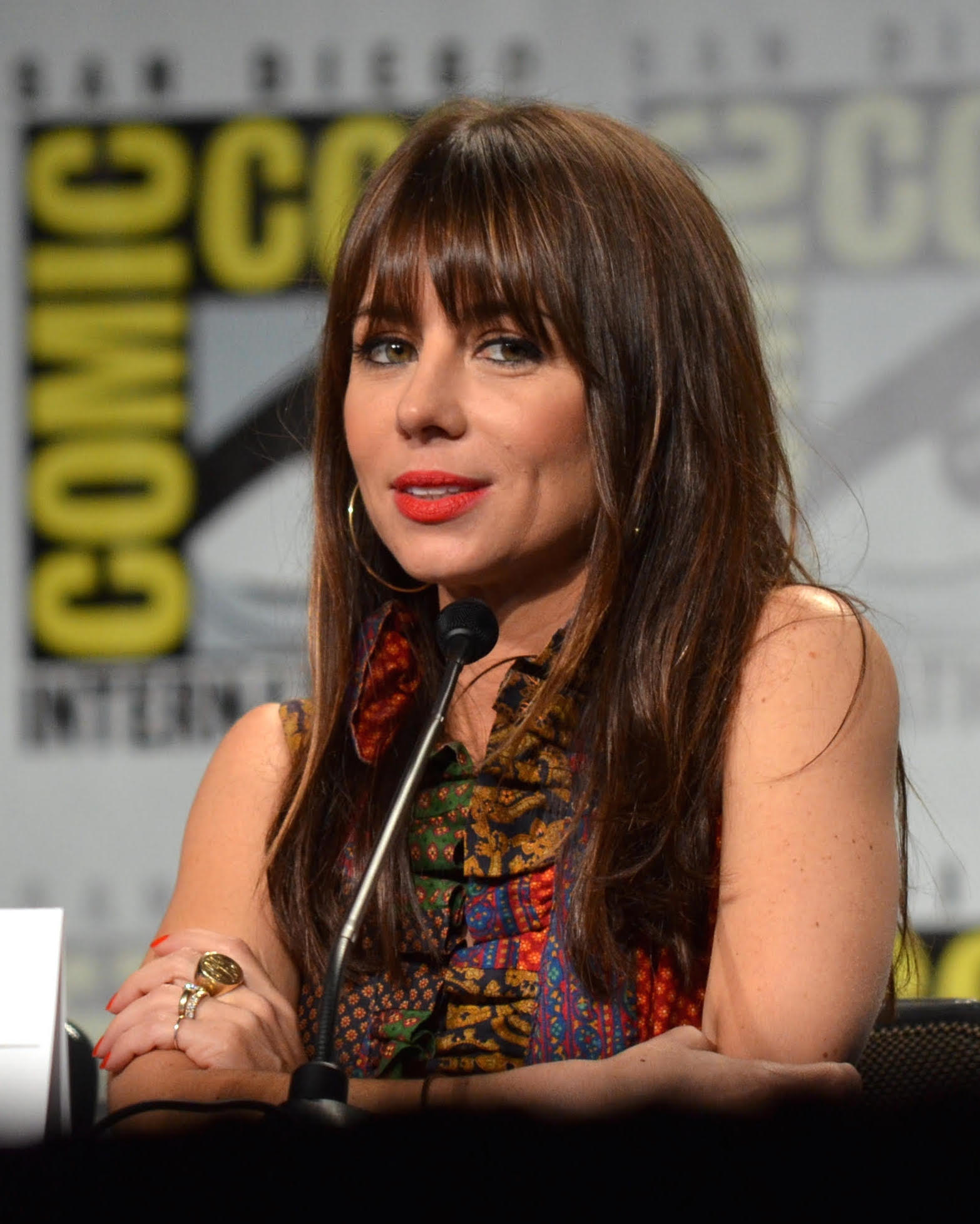Natasha Leggero will be joined by her husband Moshe Kasher for an evening of comedy at the Vic on 8/6.