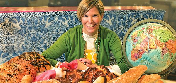 Ellen Carney Granda of Necessity Baking Co. at the French Market