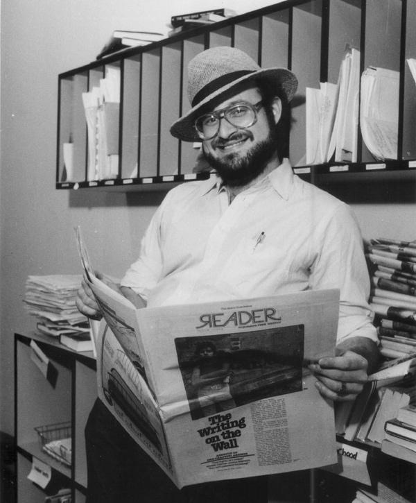 Neil Tesser in 1985