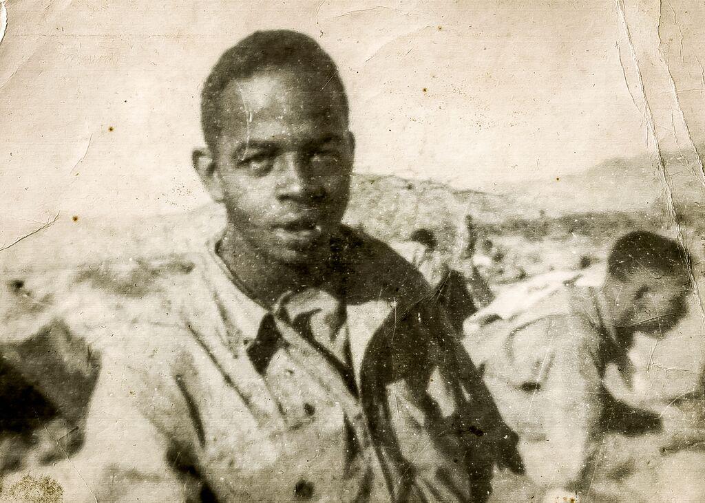 Peery during his World War II service years.