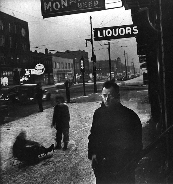 Nelson Algren on Division Street, 1949