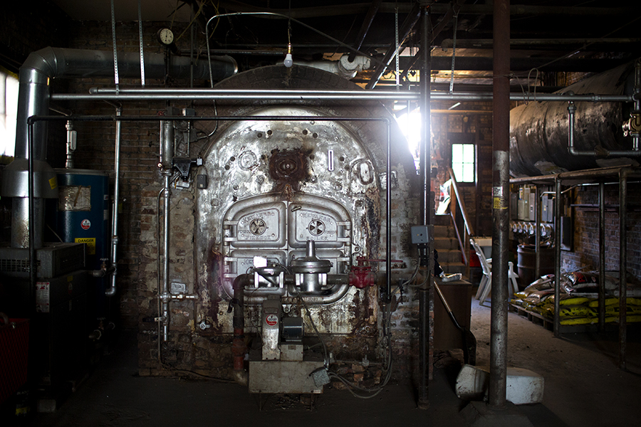 Oglesby Manor's original Kewanee boiler was state-of-art in the 1920s, and continues to be seen as a good machine today, but it requires careful and consistent maintenance that the co-op hasn't been able to afford.