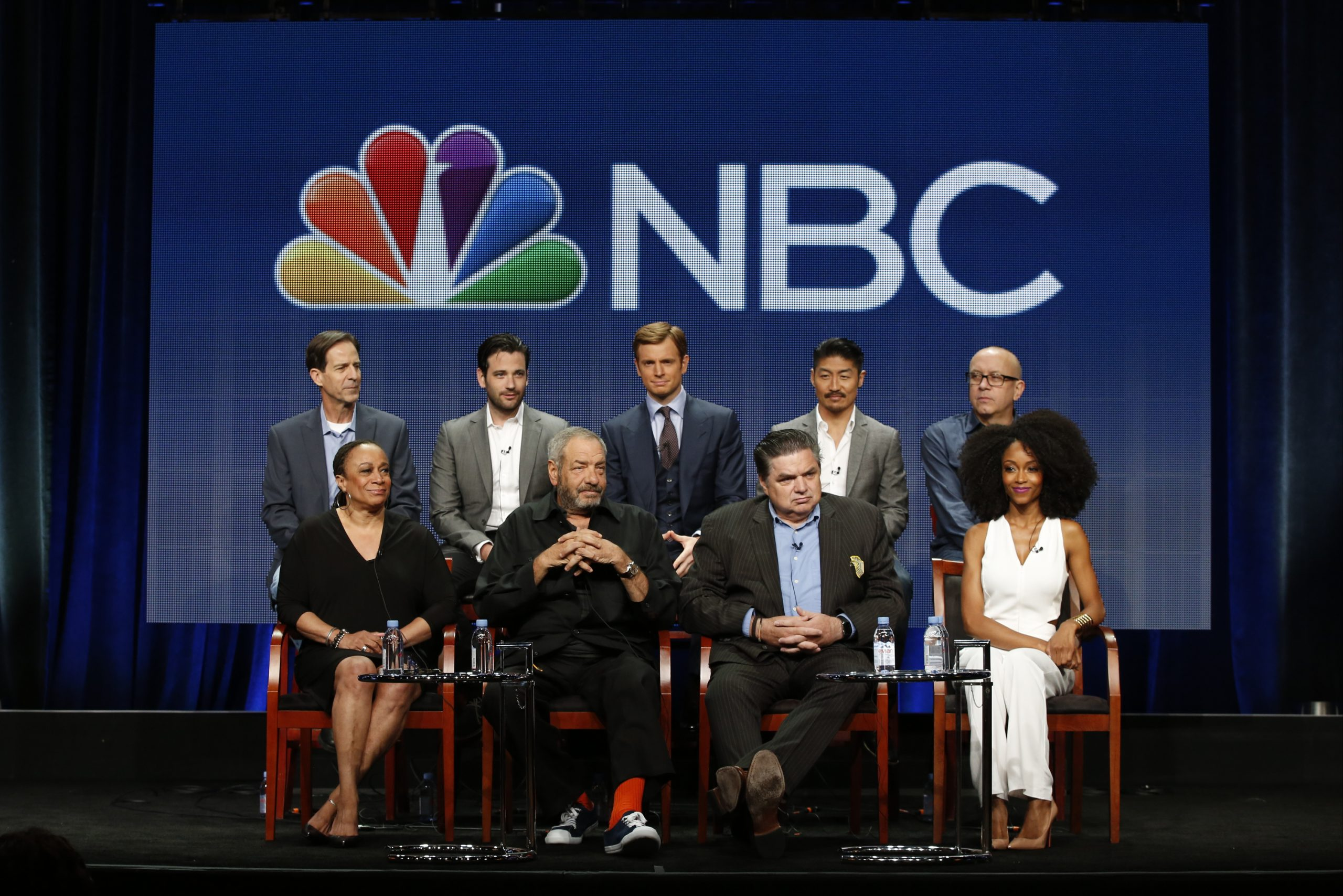 The cast and creators of <i>Chicago Med</i>