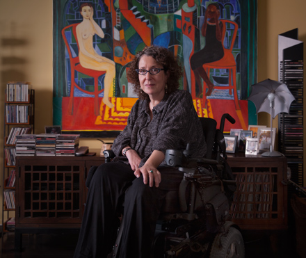 Nussbaum in her Lakeview apartment