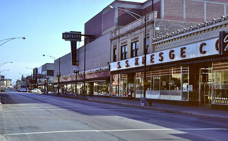 The Ave in its heyday